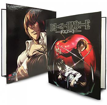 Death Note Binder - Apple & Death of L