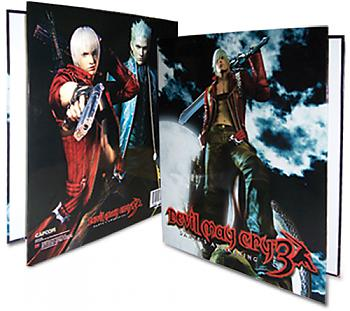 Devil May Cry 3 Binder - Key Art Dante & Vergil