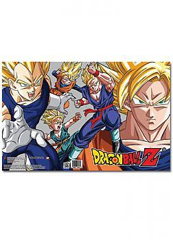 Dragon Ball Z Pocket File Folder - Saiyans