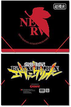 Evangelion File Folder - NERV Logo
