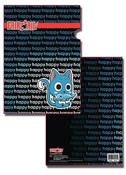 Fairy Tail File Folder - Happy (Pack of 5)