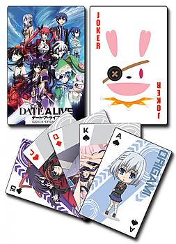 Date A Live Playing Cards