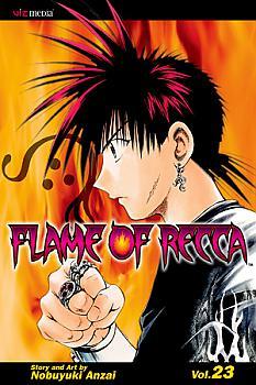 Flame of Recca Manga Vol.  23