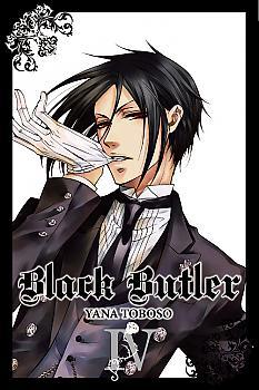 Black Butler Manga Vol.   4