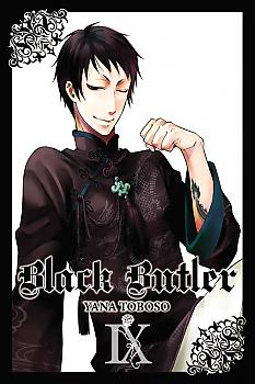 Black Butler Manga Vol.   9