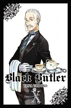 Black Butler Manga Vol.  10