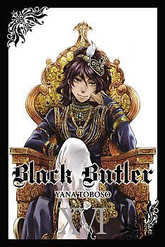 Black Butler Manga Vol.  16