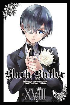 Black Butler Manga Vol.  18