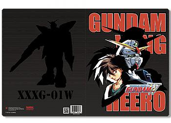 Gundam Wing Pocket File Folder - Heero