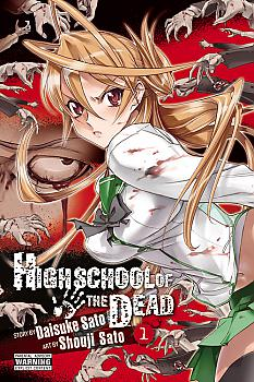 High School of the Dead Manga Vol.   1