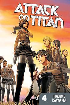 Attack on Titan Manga Vol.   4