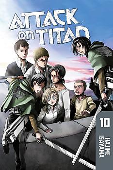 Attack on Titan Manga Vol.  10