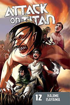 Attack on Titan Manga Vol.  12