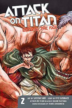 Attack on Titan Manga Vol. 2 - Before the Fall