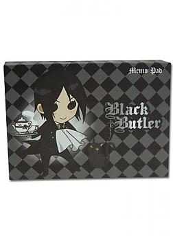 Black Butler Memo Pad - SD Sebastian