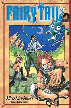 Fairy Tail Manga Vol.   4