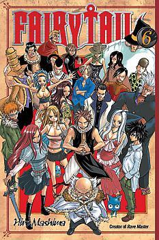 Fairy Tail Manga Vol.   6