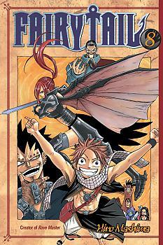 Fairy Tail Manga Vol.   8