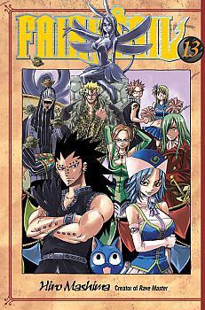 Fairy Tail Manga Vol.  13