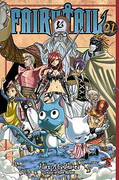 Fairy Tail Manga Vol.  21