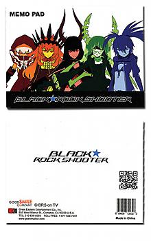 Black Rock Shooter Memo Pad - Girls