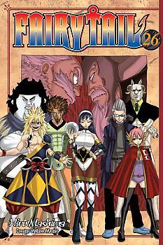 Fairy Tail Manga Vol.  26