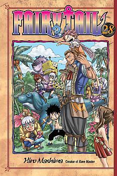 Fairy Tail Manga Vol.  28