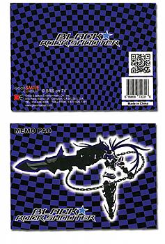 Black Rock Shooter Memo Pad - Insane Black Rock