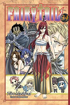 Fairy Tail Manga Vol.  34