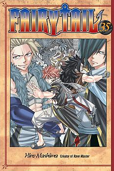 Fairy Tail Manga Vol.  35