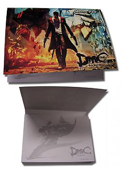 DMC Memo Pad - Dante Cover Art