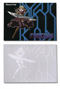 Freezing Memo Pad - Satelizer