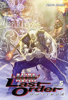 Battle Angel Alita: Last Order Omnibus Manga Vol.   5