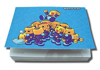 Mega Man Memo Pad - Servbot