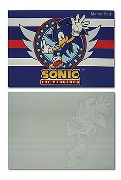 Sonic Memo Pad - Sonic