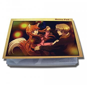 Spice and Wolf Memo Pad - Holo & Kraft