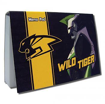 Tiger & Bunny Memo Pad - Wild Tiger