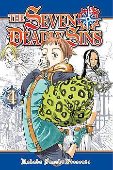 Seven Deadly Sins Manga Vol.   4
