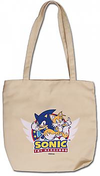 Sonic Tote Bag - Sonic & Tails Logo