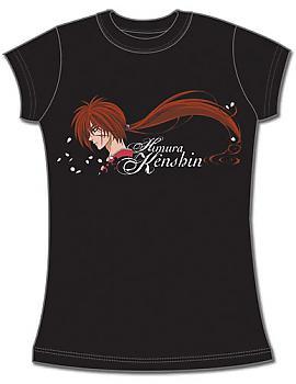 Rurouni Kenshin OVA T-Shirt - Kenshin Sideway (Junior S)