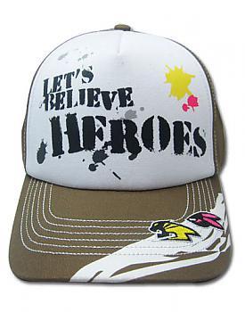 Tiger & Bunny Cap - Let's Believe Heroes