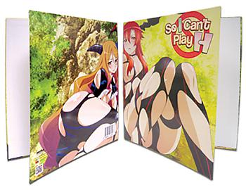 So I Can't Play H Binder - Girls Torn Outfit