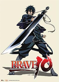 Brave 10 Wall Scroll - Saizo