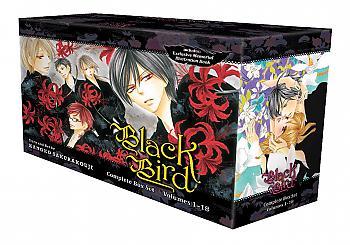 Black Bird Manga Box Set Vol. 1-18 with Premium