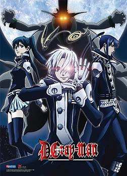 D Gray Man Wall Scroll - Exorcists vs. Earl
