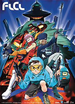 FLCL Wall Scroll - Survivial Game