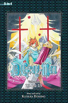 D Gray-man Omnibus Manga Vol.  5 (3-in-1 Edition)
