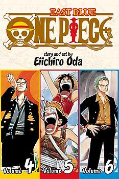 One Piece Omnibus Manga Vol.  2 East Blue (Vol. 4-5-6)