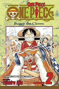 One Piece Manga Vol.  2: Buggy the Clown