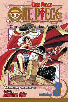 One Piece Manga Vol.  3: Don't Get Fooled Again